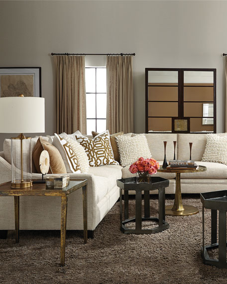 Bernhardt Sorenson 4-Piece Sectional Sofa