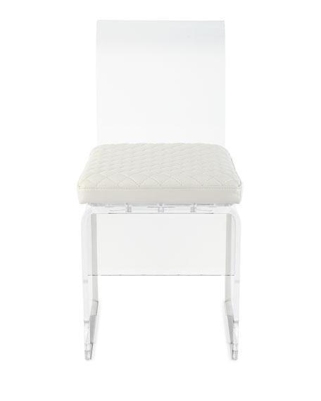 Lex Modern Lucite Chair