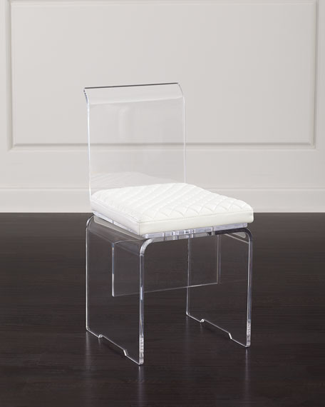 John-Richard Collection Lex Modern Lucite Chair