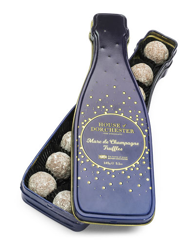 Champagne Truffle Tin