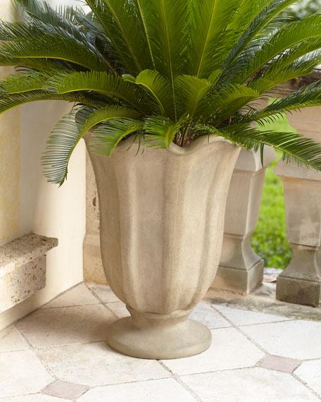 Ruffled Indoor/Outdoor Planter