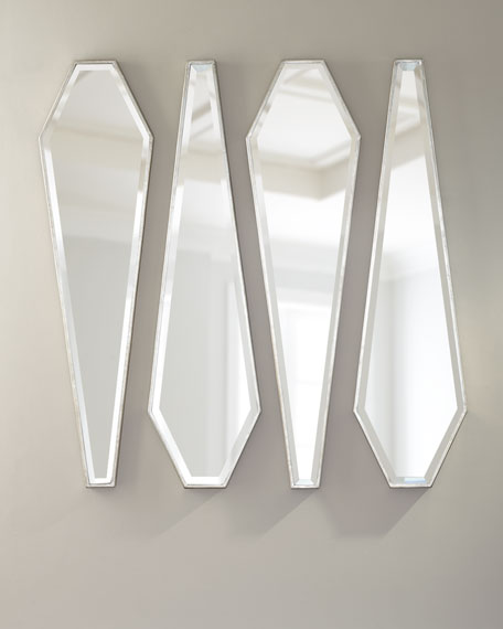 Mirror Decor, Set of 4