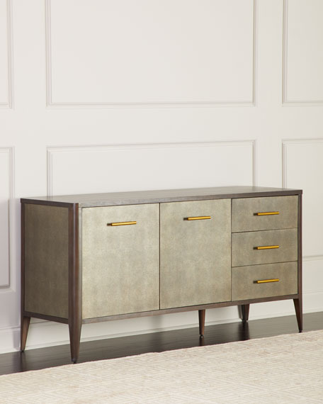 Townes Leather-Trim Buffet