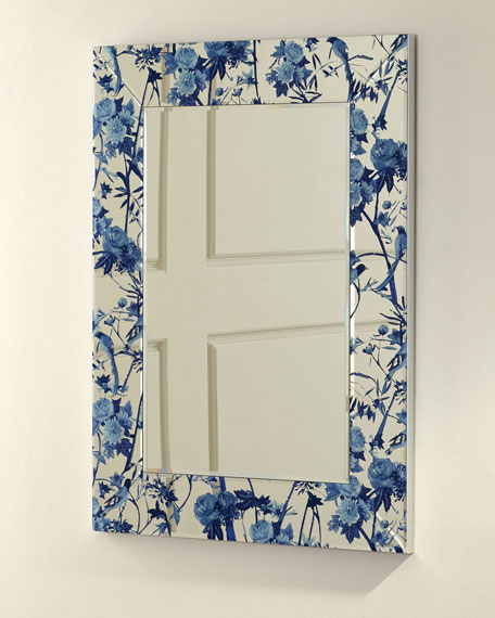 Chinoiserie Printed Mirror