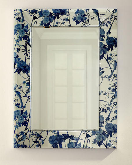 Chinoiserie Printed Mirror