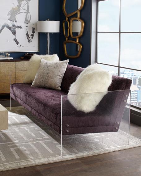 Bernhardt Mystic Acrylic Sofa, 83