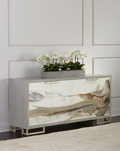 Inaka Rice Paper Dining Console