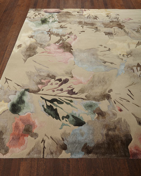 Brushstroke Hand-Tufted Rug, 7.9' x 9.9'