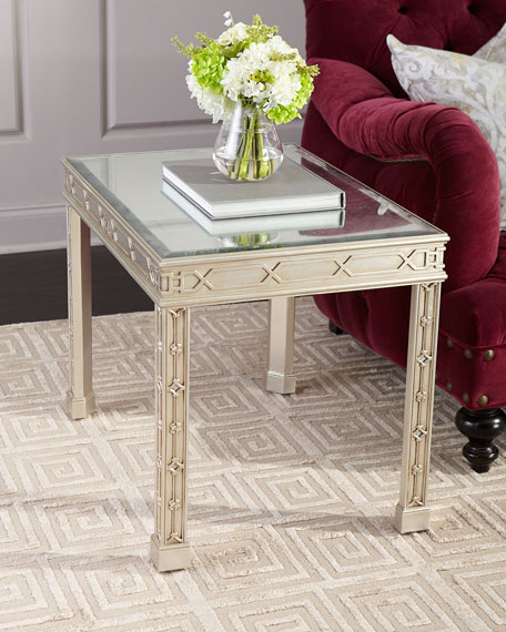 Linford Eglomise Side Table