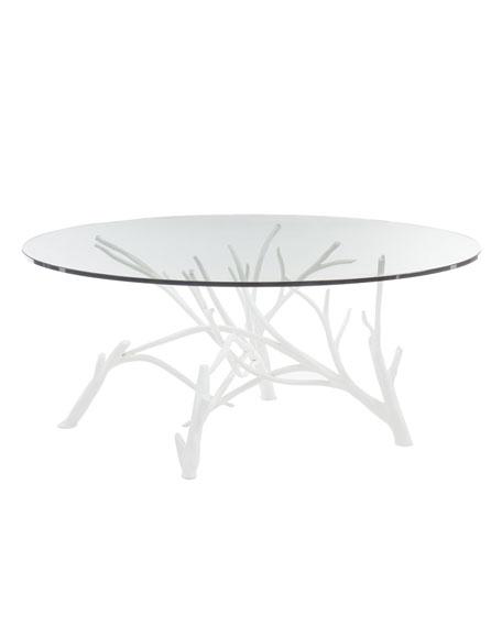 Marnie Faux Twig Coffee Table