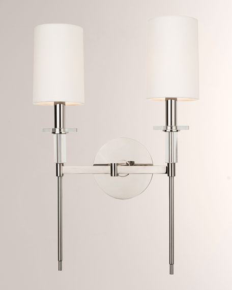 Amherst Double Sconce