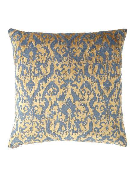 "Pantheon Midnight Pillow - 24""Sq."