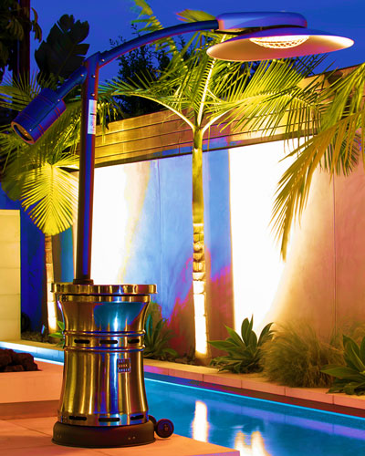 Curve Infrared Patio Heater  Stainless Steel