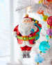 Roly-Poly Santa Ornament