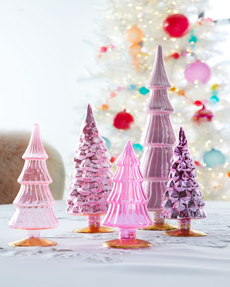Cody Foster & Co Pink Hue Trees, Set