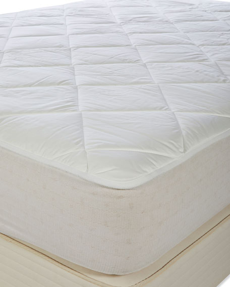 Royal-Pedic Luxury All Cotton Mattress Pad - Queen