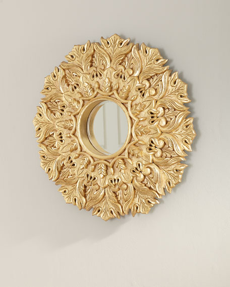 Large Medallion Wall Mirror