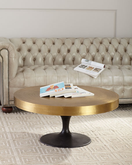 Arteriors Daryl Round Coffee Table