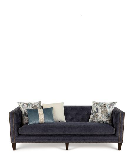 """Gaitland Tufted Sofa, 90"""""""