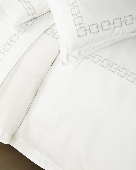 Matouk Cadiz Queen Duvet Set