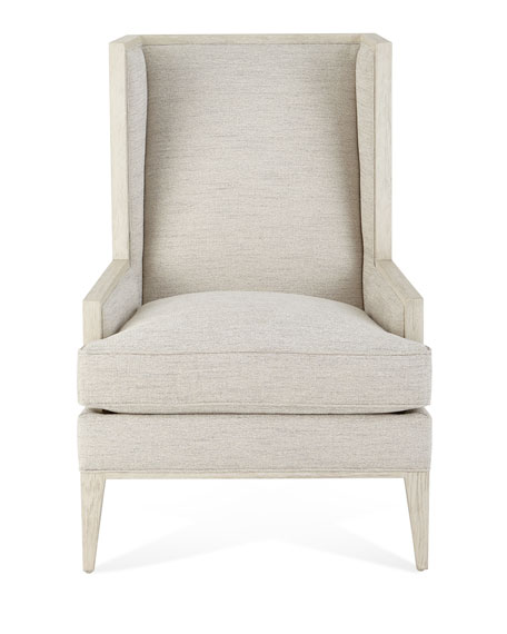 Marigot Capiz Shell Wing Chair