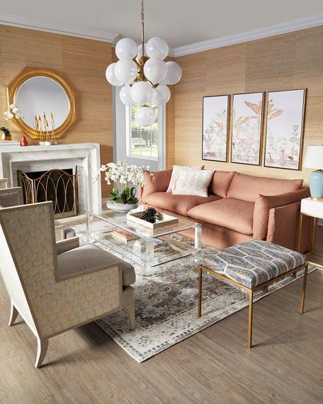 Marigot Capiz Shell Wing Chair