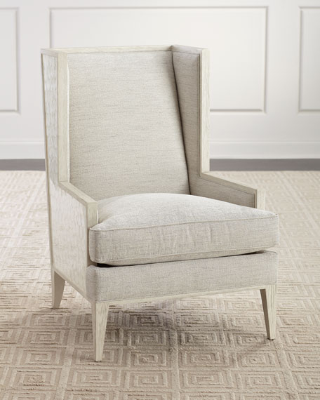 Bernhardt Marigot Capiz Shell Wing Chair