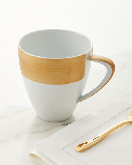 Exclusive Brushstroke Mugs, Set of 4