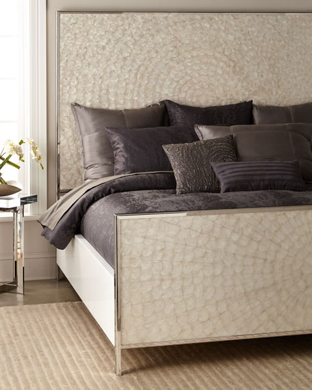 Helios Capiz Shell King Bed