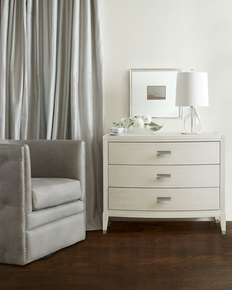 East Hampton Bow Front Night Stand