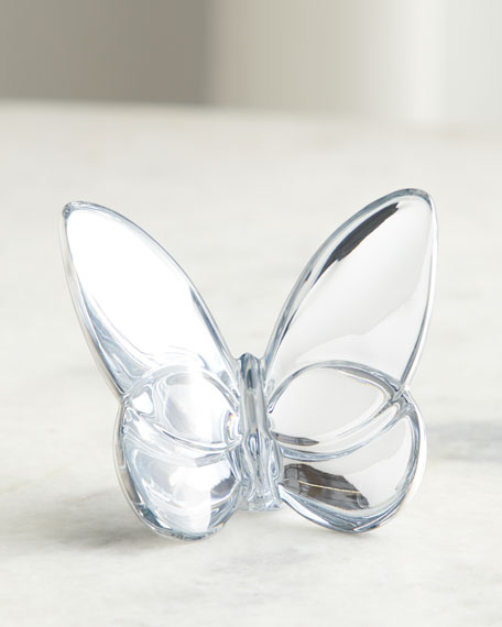 Silver Lucky Butterfly