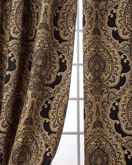 "Valour Curtain Panel Set, 108"""