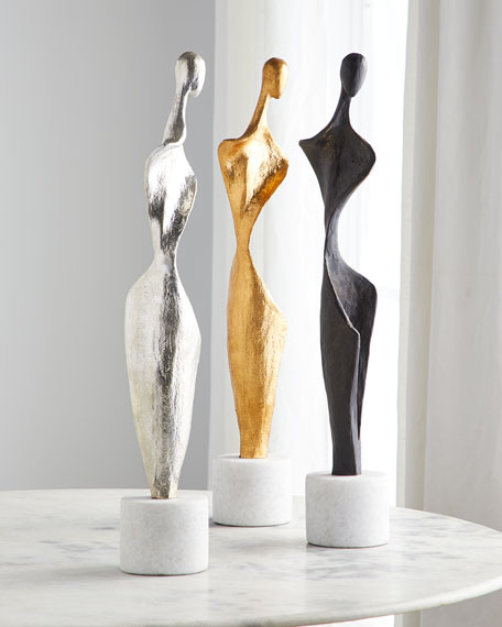 Global Views Silhouette Sculpture