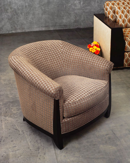 Bel Air Houndstooth Lounge Chair