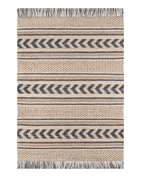 Vincent Hand-Woven Rug, 5' x 8'