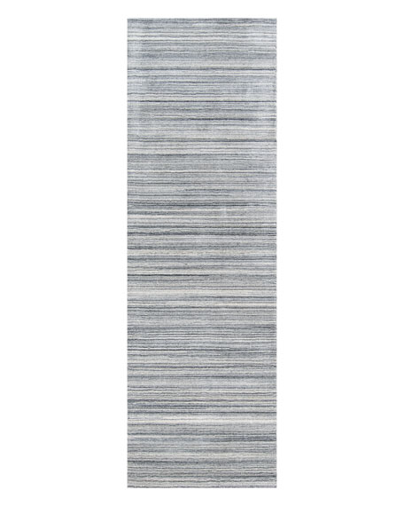 Pacific Hand-Loomed Runner, 2' x 8'