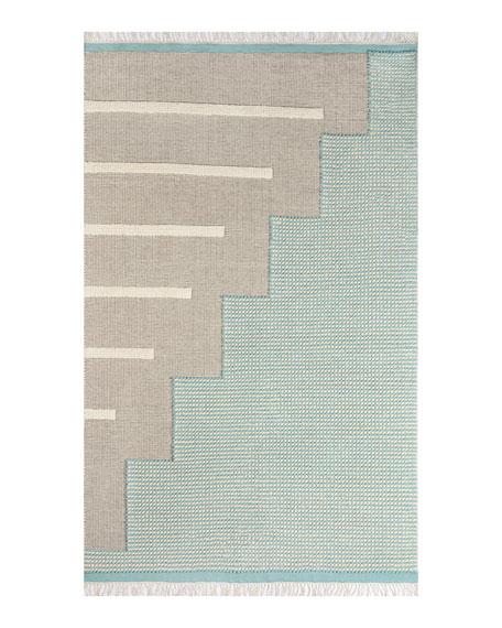 Twisp Hand-Woven Rug, 8' x 10'