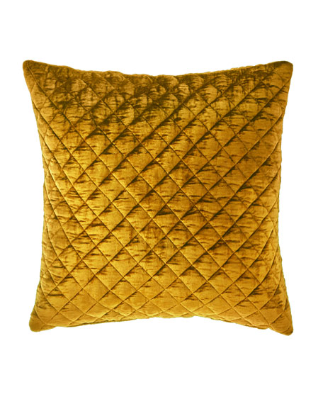 Patina Velvet Decorative Pillow