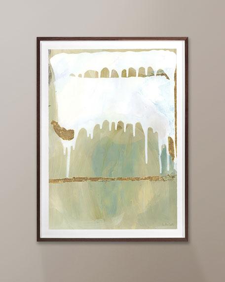 """""""Port del Aqua"""" Diptych Panel 1 by Zoe Bios"""