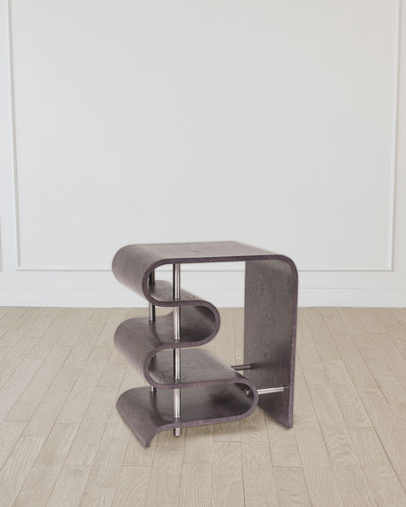 Traverse Grey Side Table