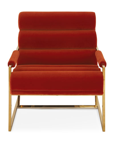 Channeled Goldfinger Lounge Chair