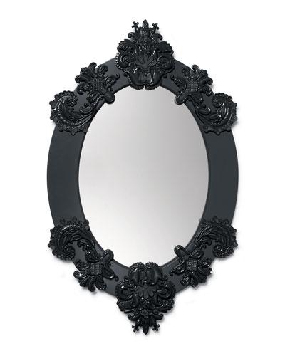 Framed Oval Mirror