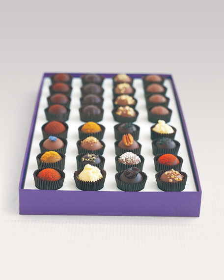 Exotic Truffle Collection, 32 Pieces
