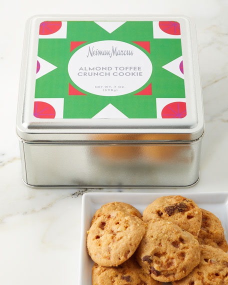 Almond Toffee Crunch Cookies