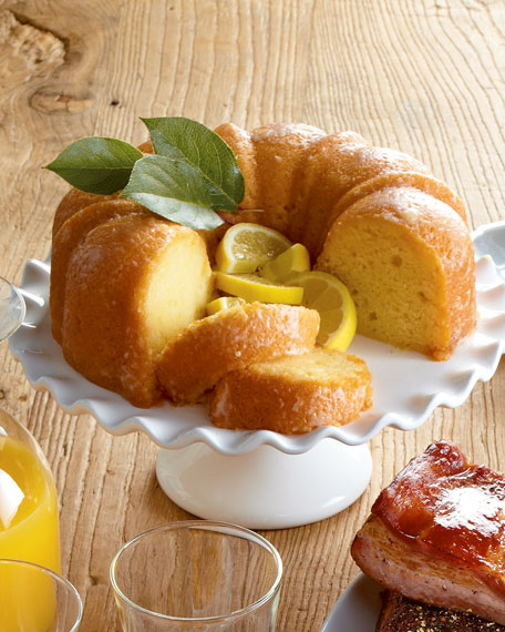 Lemon Bundt Cake, For 16-20 People