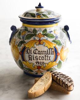 Il Limone Grande Biscotti Jar