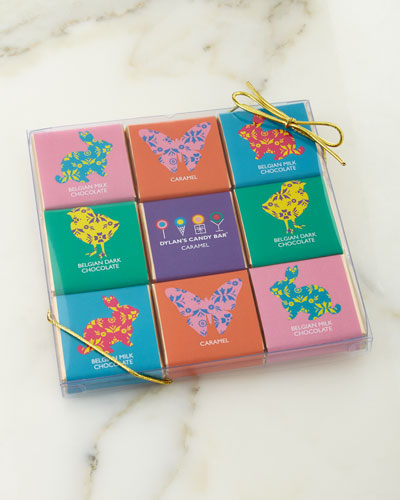 18-Piece Easter Chocolate Squares