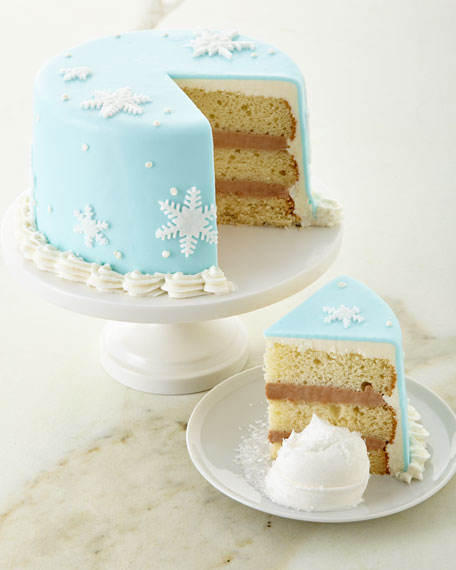Snowflake Cake, For 6-8 People