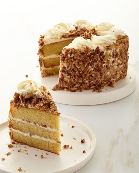 Southern Bourbon Butterscotch Crunch Cake