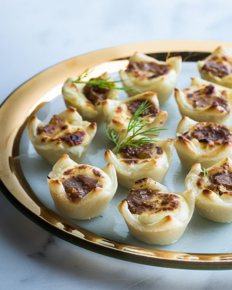 Fig, Apple, & Onion Jam Pastry Kisses, For